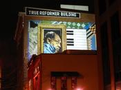 Mural of Duke Ellington at the True Reformer Building on U Street NW in Washington, D.C.