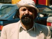 Jit Narain, Surinaams arts en dichter. Eigen foto.