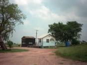 English: Branch Davidian compound near Waco, TX
