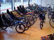 A shop for recumebts in Nijmegen Français : Un magasin de vélos couchés en Nijmegen Nederlands: Een ligfietshandel in Nijmegen