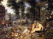 Jan Brueghel (I) - The Sense of Smell - WGA3581