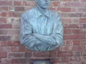 Bust of Steve Bloomer, Pride Park Stadium