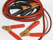 Booster cables (12V, 50A, 3mm², 3.5m)
