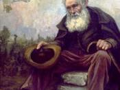 English: Old Beggar, 1916, by Louis Dewis, painted just outside his clothing store in Bordeaux