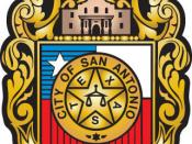 Official seal of City of San Antonio