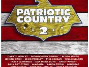 Patriotic Country 2 CD cover