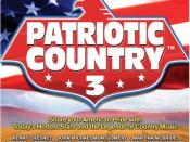 Patriotic Country 3 CD cover