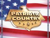 Patriotic Country CD cover
