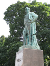 Statue of Sir Robert Peel, Woodhouse Moor, Leeds