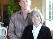 English: Anne and Christopher Rice on Thanksgiving 2005