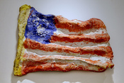 U.S.A. Flag by Claes Oldenburg