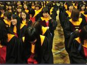 English: Cheonan Girls' School Graduation Clothes