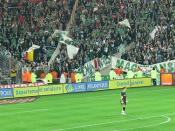 Loneliness of the goalkeeper (Solitude du gardien de but) Stade de la Beaujoire: FC Nantes / AS Saint-Etienne