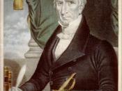 English: William Henry Harrison: ninth President of the United States.