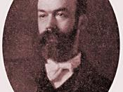 George D. Herron as he appeared around the turn of the 20th Century.