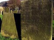 18th Century Gravestones
