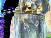 18th Century Memento Mori Stone
