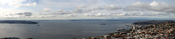 English: View of Puget Sound from the Seattle Space Needle
