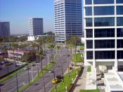 English: Newport Center in Newport Beach, California.