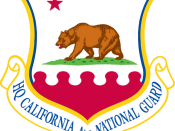 Emblem of the California Air National Guard, U.S. Air Force.