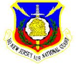 English: Emblem of the New Jersey Air National Guard.