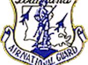 Logo of the U.S. Louisiana Air National Guard.