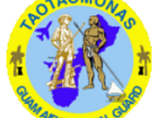 Roundel of the Guam Air National Guard, U.S. Air Force.
