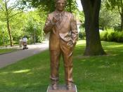 Statue of Konrad Zuse, Bad Hersfeld, Germany