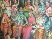 English: Rama's coronation, 1940