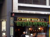 Bung Hole, Holborn, WC1