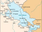 Location of Desaguadero in Bolivia and Peru, at Lake Wiñaymarka (Lake Titicaca)