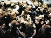 A poster or logo for Royal Rumble (2007).