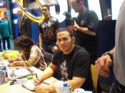 Matt Hardy at an autograph signing
