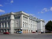 Saint Petersburg Conservatory, where Rimsky-Korsakov taught from 1871 to 1906