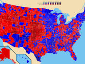 Election results by county. Bill Clinton Bob Dole