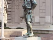 en: Ideal Scout Statue by Robert Tait McKenzie, 22nd & Winter Streets, Philadelphia, PA