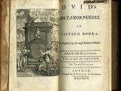 English: Second Volume of a 1727 edition of Ovid's Metamorphoses