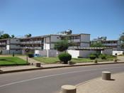 English: Residence hall of the University of Botswana in Gaborone, Botswana