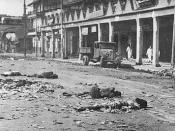 The victims of the 1946 riots in Calcutta (now Kolkata).
