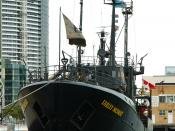 English: Farley Mowat. I took this at Docklands, Melbourne, Australia in 2005. Category:Sea Shepherd Conservation Society