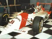 1994 Penske PC-23 Speedway Oval Package. The car displayed was driven by Al Unser, Jr..