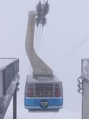 snowbird tram in snowbird ski resort in utah,USA