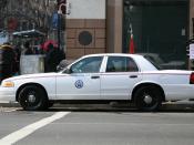 United States Postal Inspection Service car