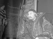 Svend Soot von Düring som Shylock (1969)