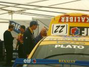 Williams Touring Car at Thruxton 1997