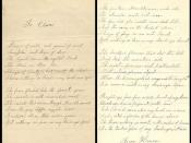 Love letter to Clara Ford