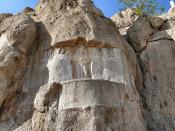 Naqsh-e Rostam II contextual view