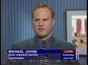 Michael Johns on C-SPAN, July 15, 1995