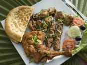 BBQ on a plate, available in Palm Resorts, Karachi