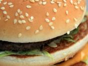 English: A Big Mac sandwich taken at Velika Gorica, Croatia.